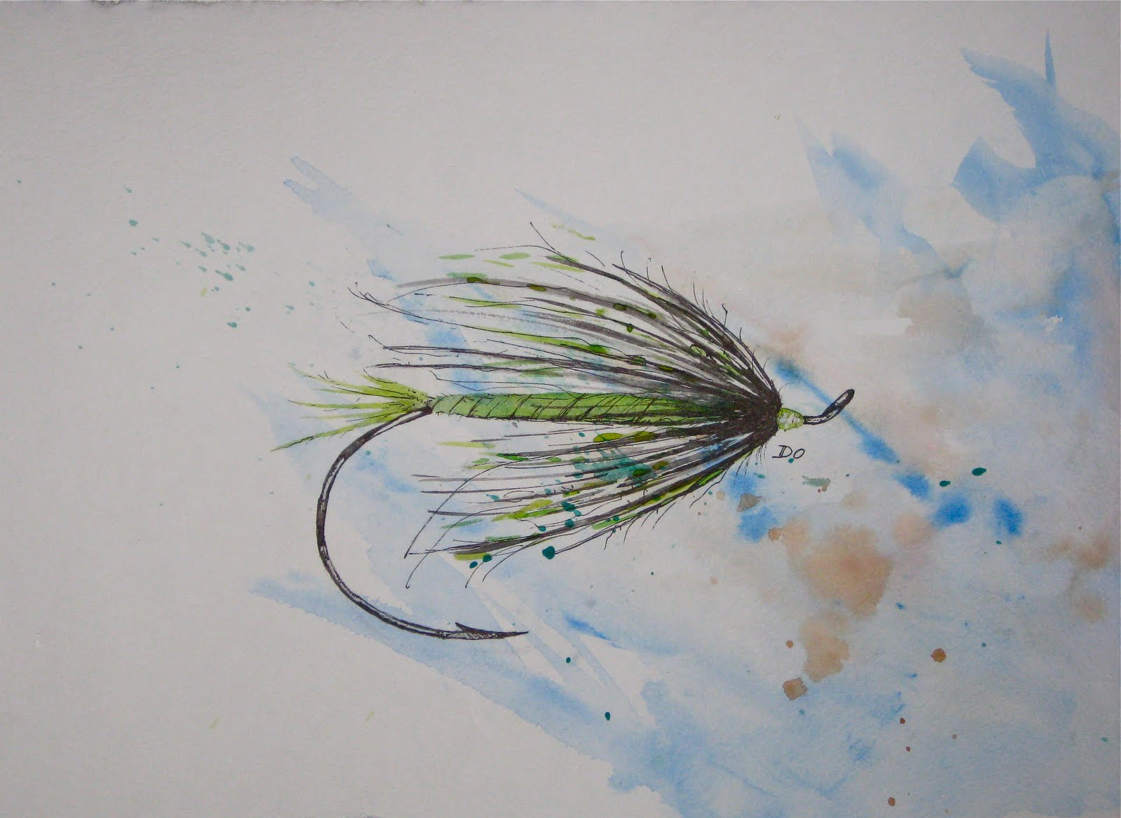 The art of fly fishing for Fly fishing art