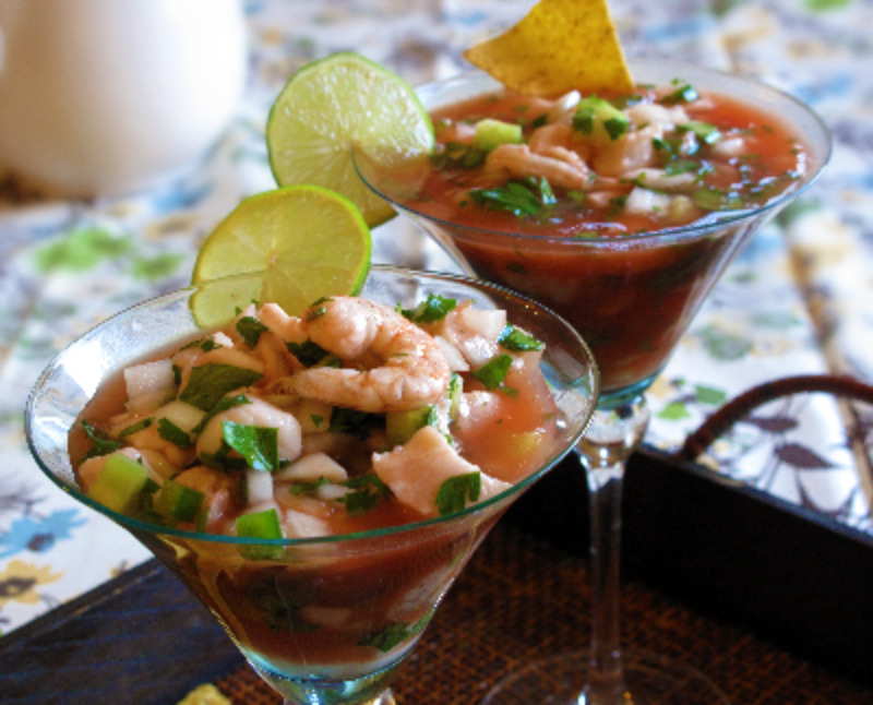 Simply Healthy Family: Puerto Penasco Ceviche