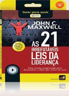 21leisirrefutaveis As 21 leis irrefutaveis da liderança Audio book