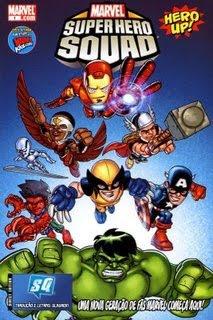 00000z Esquadrão de Super Herois #01 | Baixar Gibis Gratis
