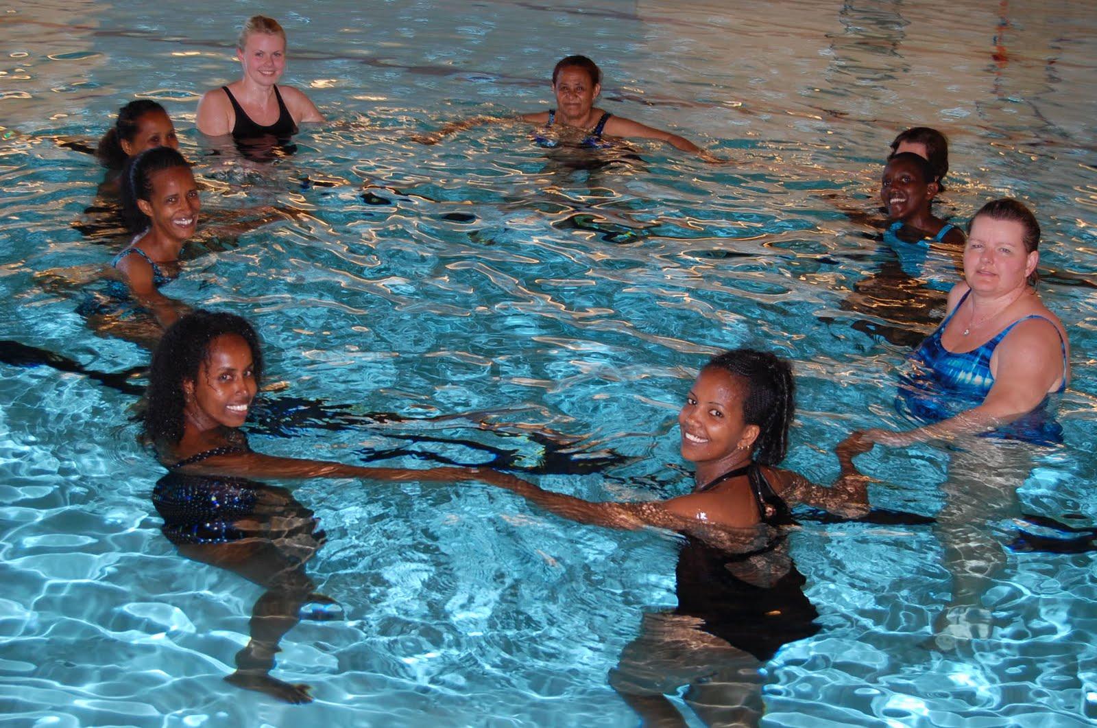 Voksenopplæringen i Øvre Eiker Kommune: Svømmekurs for kvinner