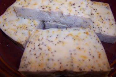 Lemon Poppyseed Natural Soap