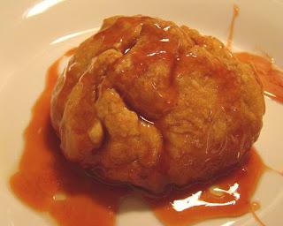 Tami's Kitchen Table Talk: Rustic Apple Dumplings with Cinnamon Sauce
