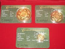 Dalam bentuk wang syiling Dinar Publicgold