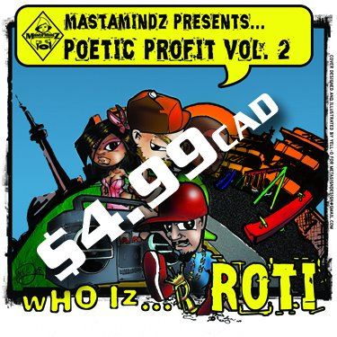 POETIC PROFIT vol.2 WHO IZ ROTI