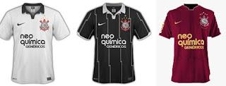 Camisa Corinthians 2011