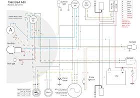 [TVPR_3874]  Old Bike Hack: BSA A50/65 wiring loom in colour | Bsa A50 Wiring Diagram |  | Old Bike Hack - blogger