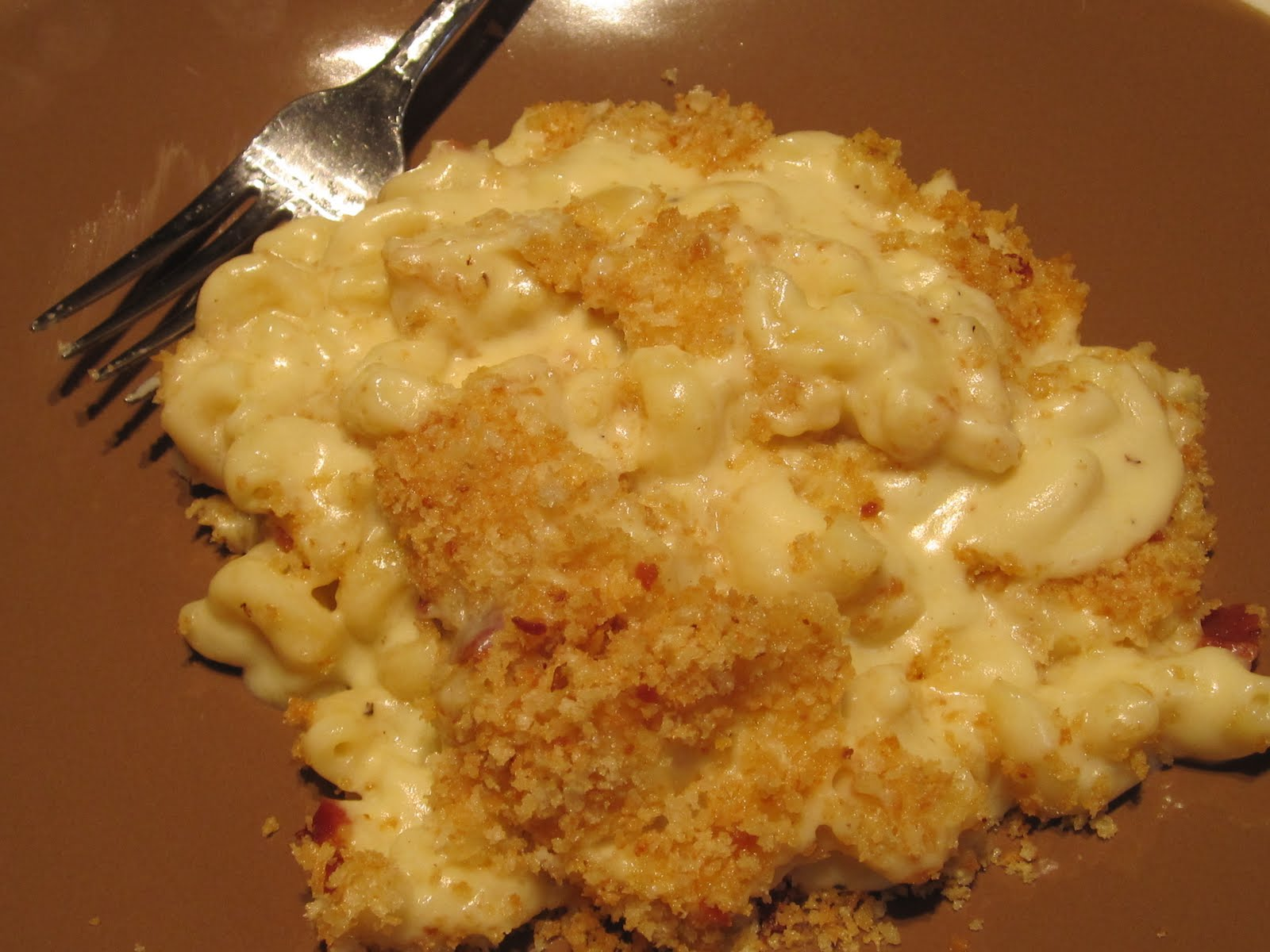 Mama Ozzy's Table: Smoked Gouda Macaroni and Cheese with Bacon Panko ...