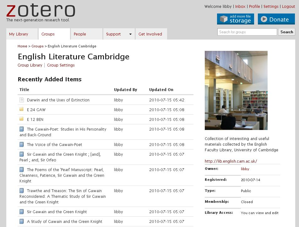 how to add source zotero