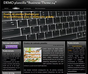 Descargar plantilla Business Theme 04