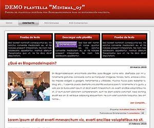 Descargar plantilla Minimal_05