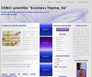 Descargar plantilla Business Theme_06