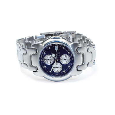Men's Blue Face Watch Volvo