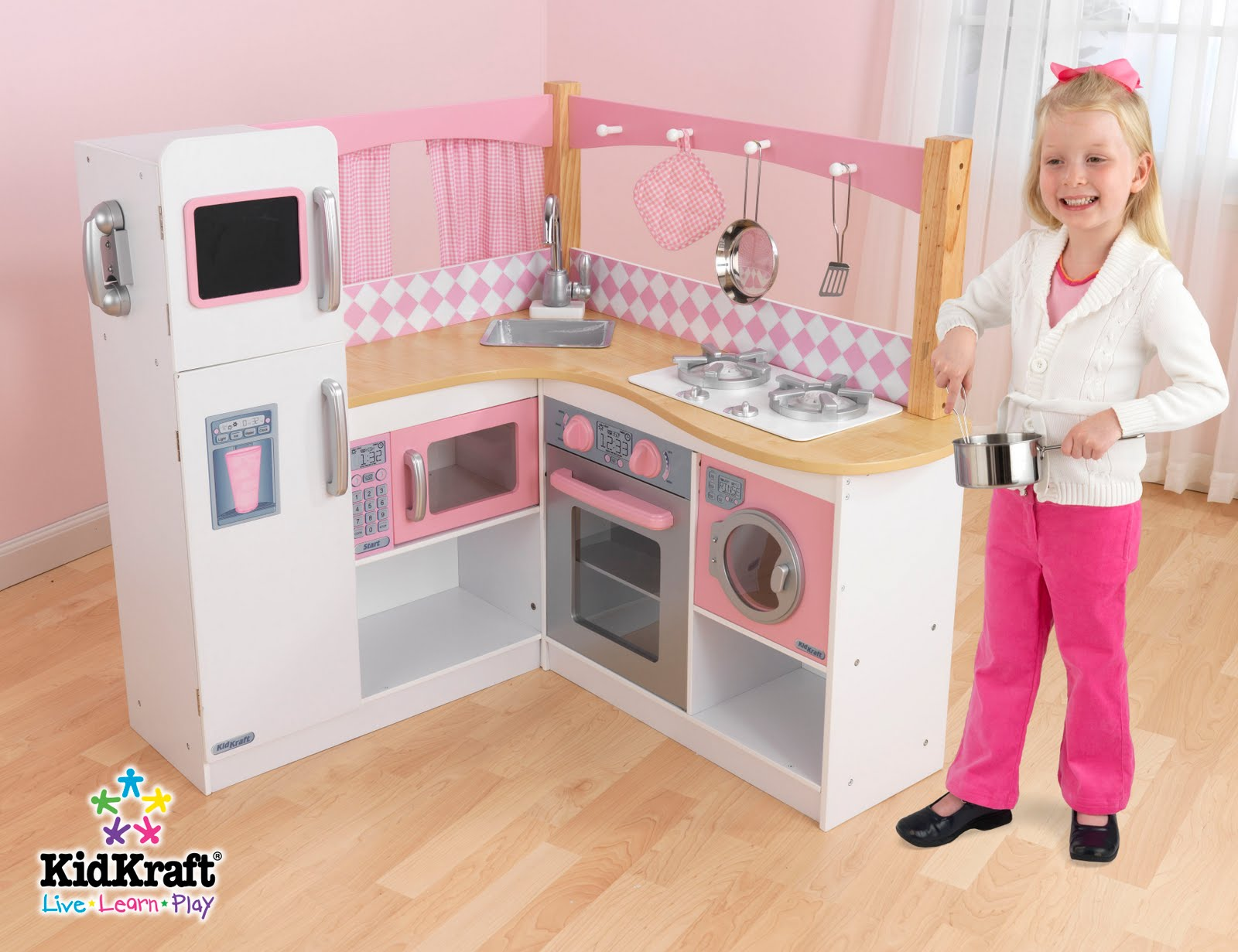 grand gourmet play kitchen is selling fast this huge play kitchen