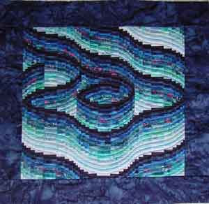 Twist and Turn Bargello Quilts: Eileen Wright