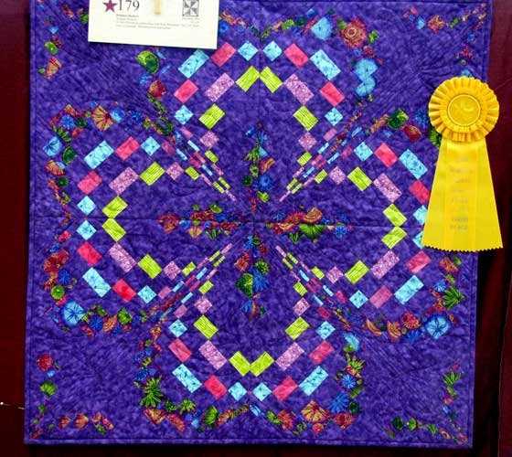 Online quilt classes & quilting patterns: Prize Winning Bargello