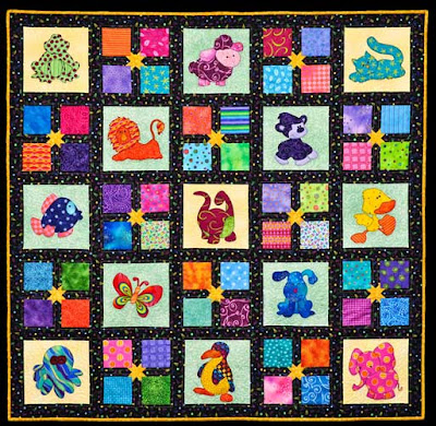 Animal Baby Pattern Quilt | Over 5,000 Free Patterns