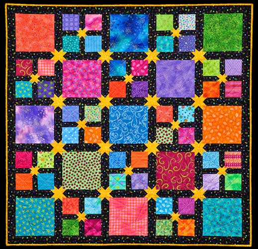Online quilt classes amp quilting patterns baby quilt of applique