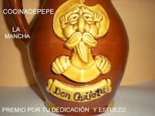 """""""Premio Cocinadepepe, por tu dedicación y esfuerzo"""" (La Mancha)"""