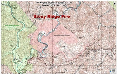Stony Ridge Wildfire has already consumed 1,557 acres