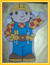 Bob The Builder cake