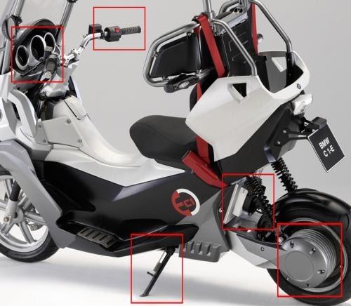scooter vectrix tests permanents un bmw c1 avec moteur. Black Bedroom Furniture Sets. Home Design Ideas
