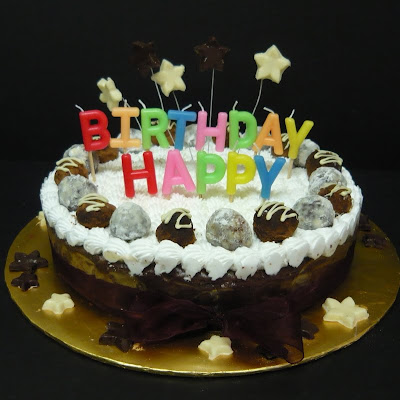TeaRoom by Bel Jee A Cherry Ripe Chocolate Cheese cake