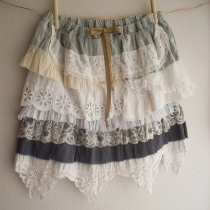 Aren't these cute skirts? I love the randomness of the ruffles. Find ...