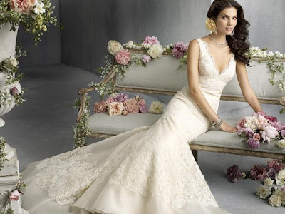 or elegant than a bride in lace Here are a few of my favorites