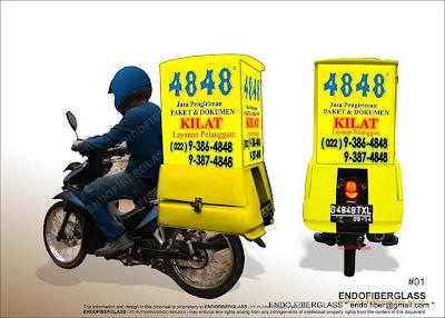 Order Jasa Pembuatan Dan Produksi Box Motor Untuk Delivery/Catering
