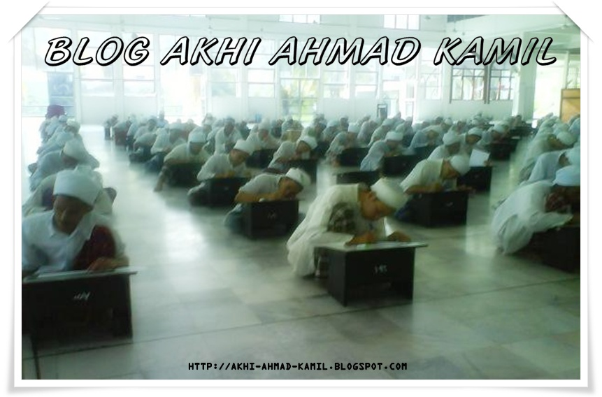 Blog Akhi Ahmad Kamil