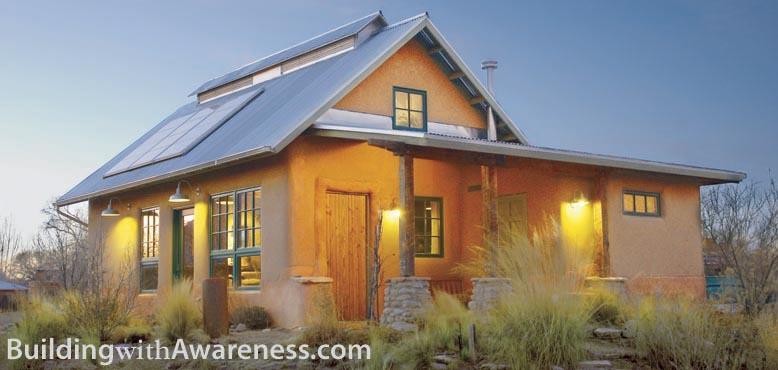 Sustentabilidade ac o casas em palha for The look at home