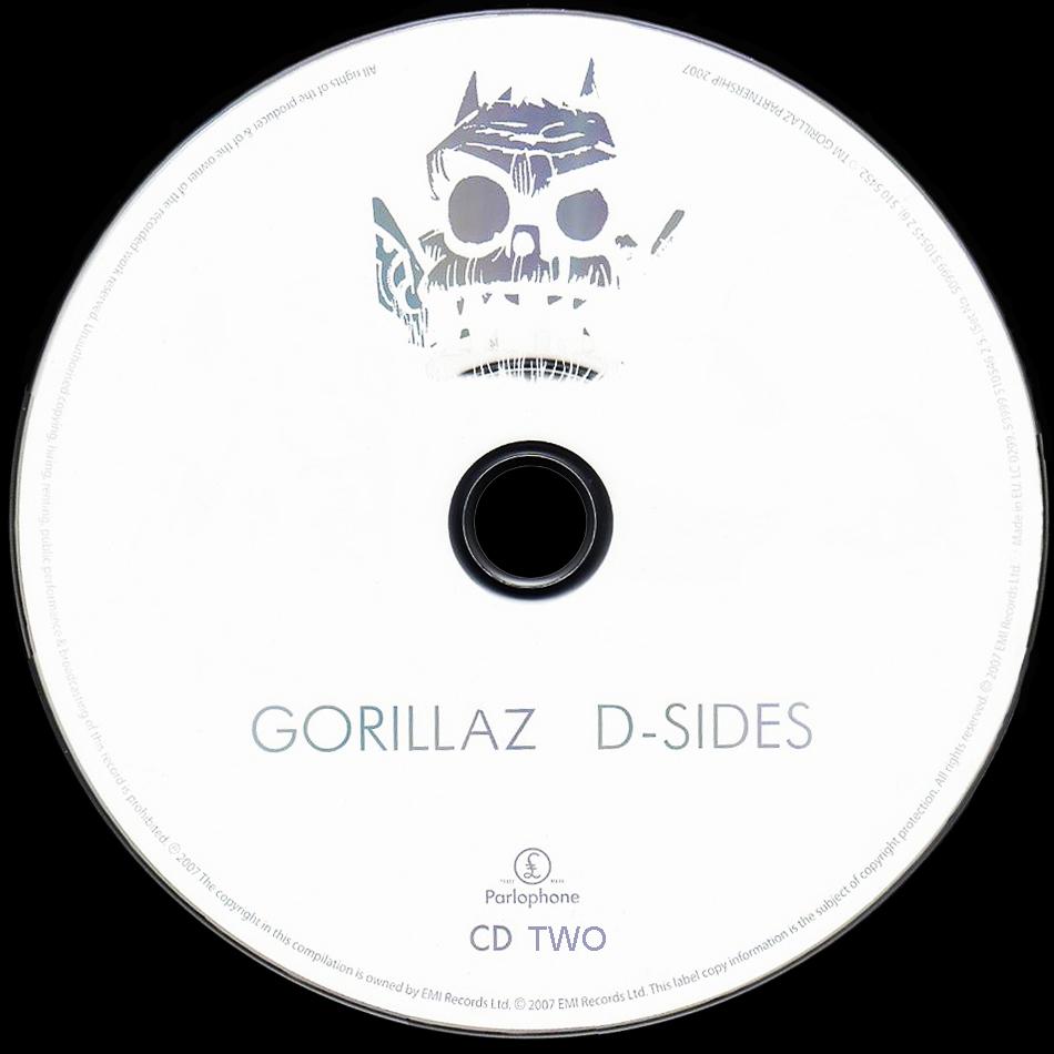 Gorillaz d sides - photo#9