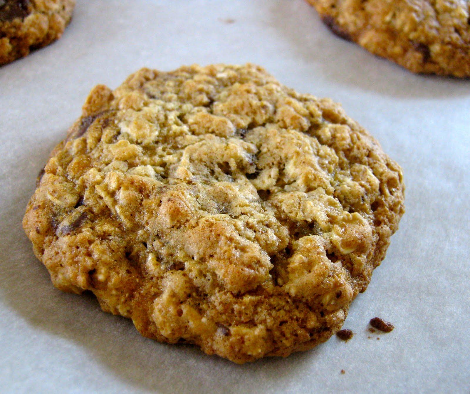 Banana Oatmeal Chocolate Chip Cookies Recipe — Dishmaps