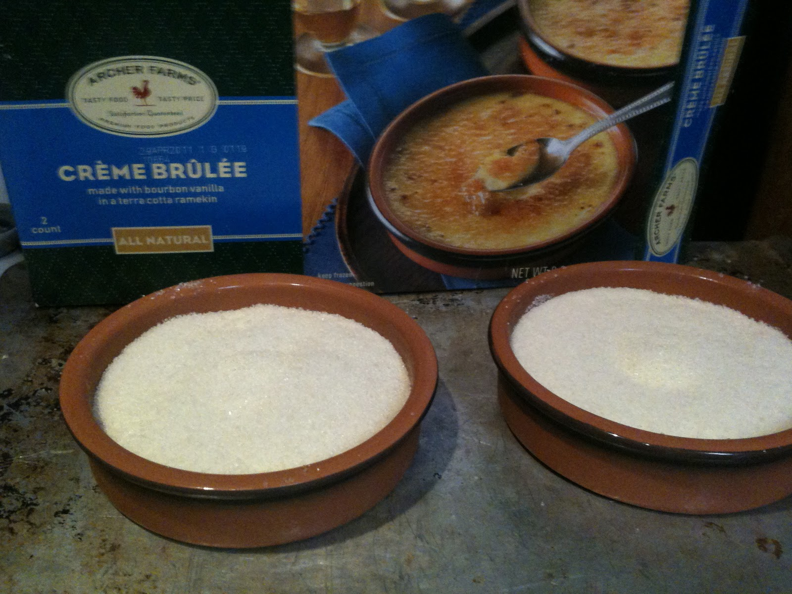 how to make creme brulee without ramekins
