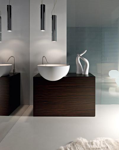 Interiores minimalistas los elegantes ba os de toscoquattro - Banos minimalistas ...