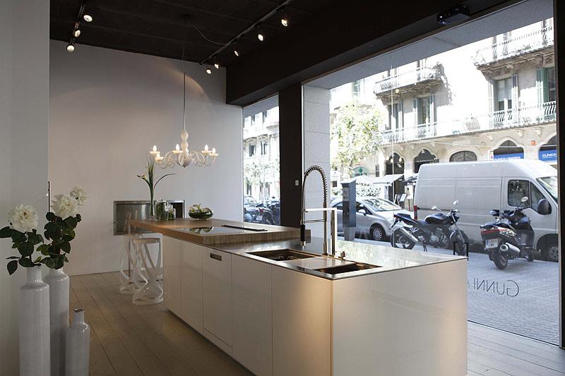Gunni trentino abre un nuevo showroom en barcelona - Gunni trentino cocinas ...