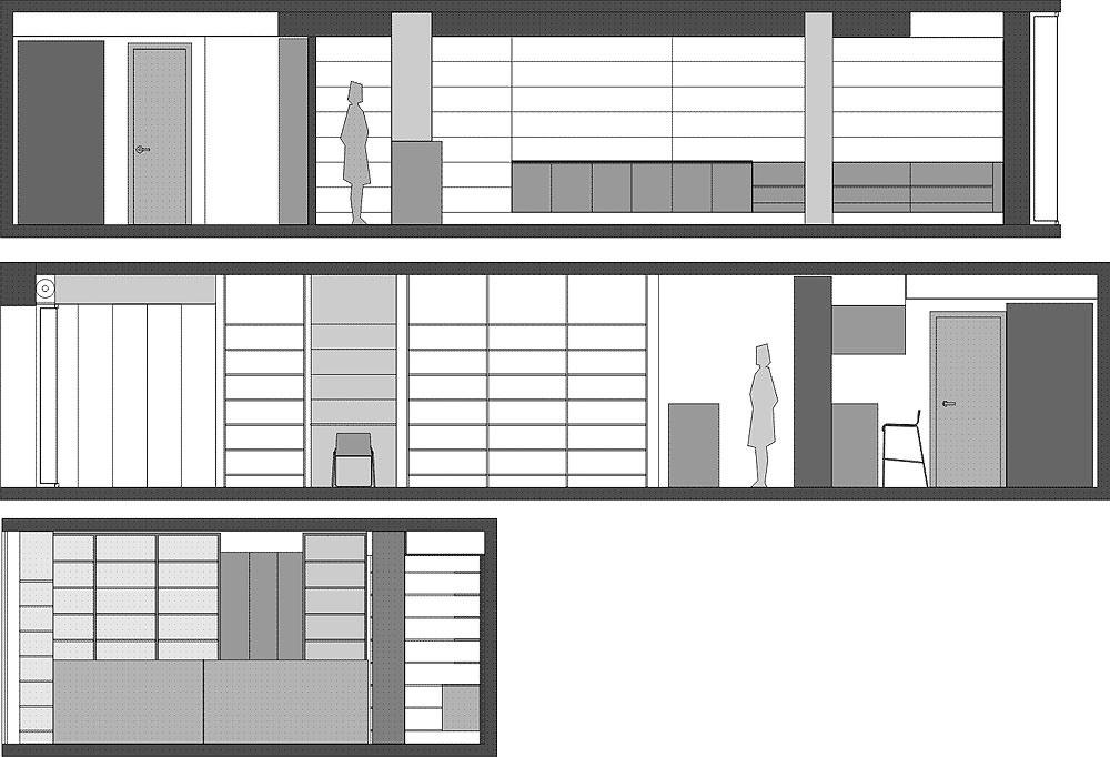 Interiores minimalistas clasicismo contempor neo de la - Arquitectura de interiores ...