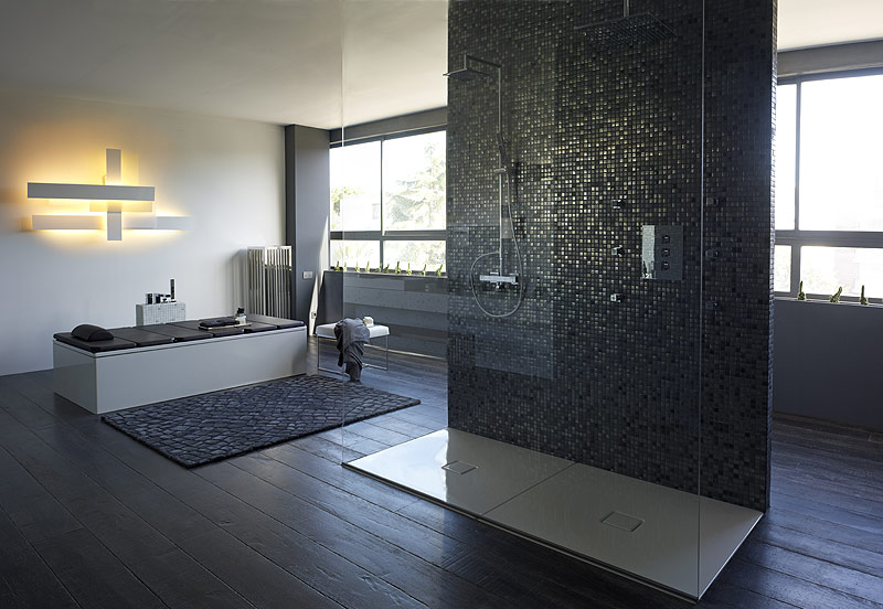 Moderne Duschen Mit Mosaik