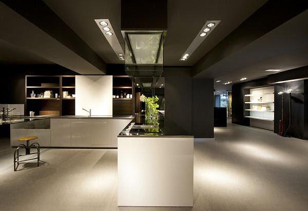 Interiores minimalistas nueva tienda boffi en madrid 500 - Disenadores de interiores madrid ...