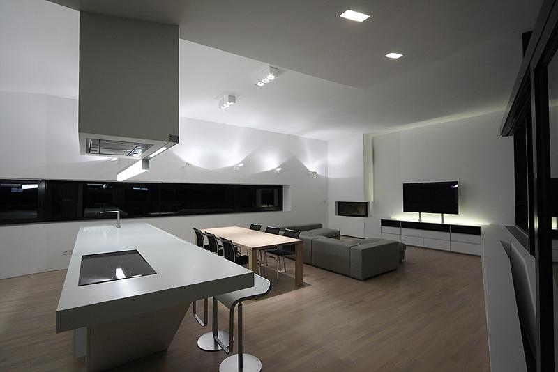 Los interiores minimalistas de 2010 y ii interiores for Casa minimalista interior cocina