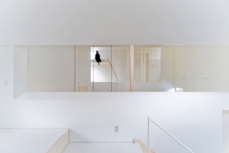 Cortinas De Baño Zona Sur:House of Trough, por Jun Igarashi Architects