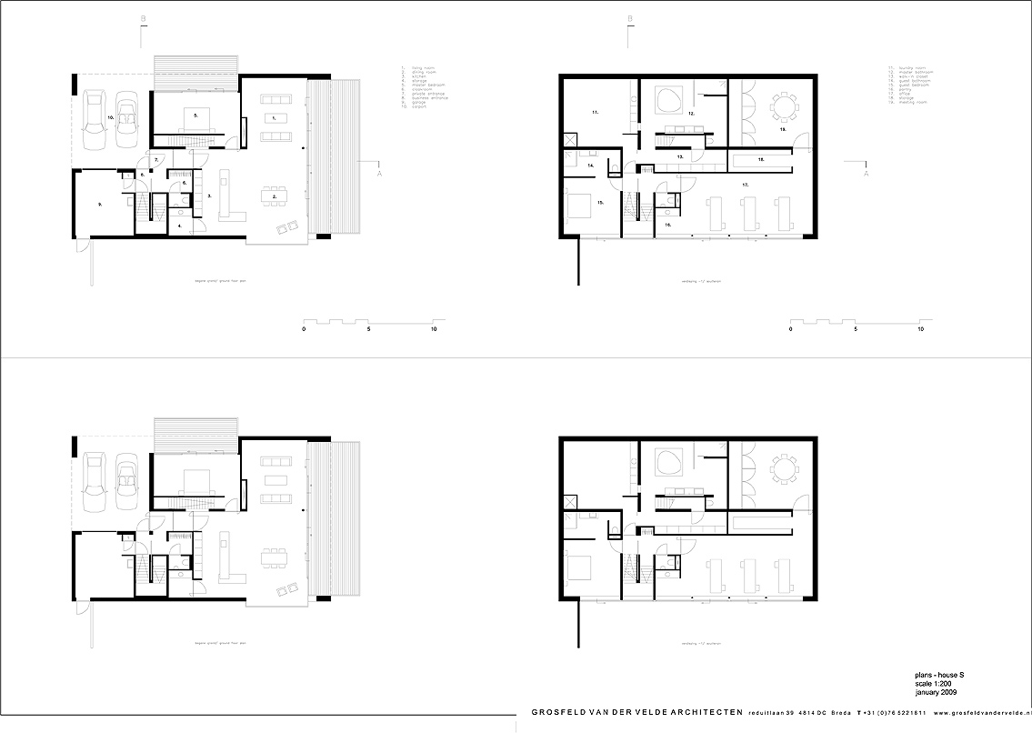 Interiores minimalistas una casa para vivir y trabajar for Casas minimalistas interiores
