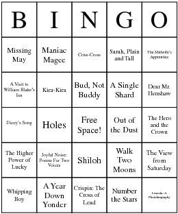 [Newbery+Bingo]