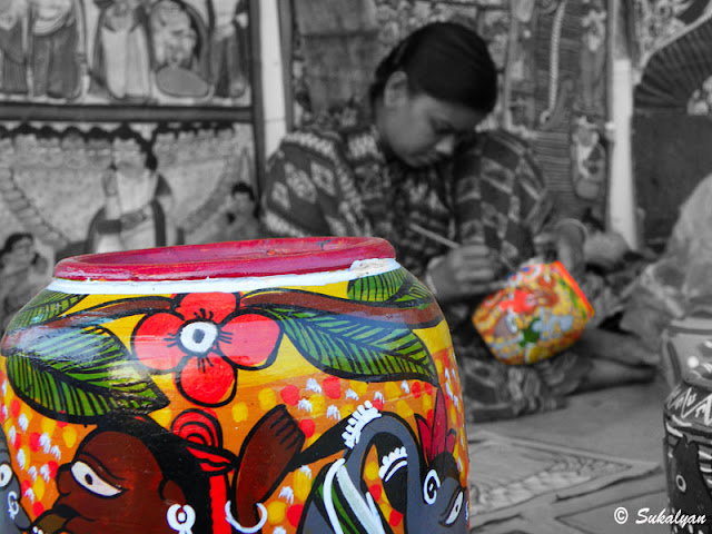 handicrafts fair in Kolkata by Sukalyan Chakraborty