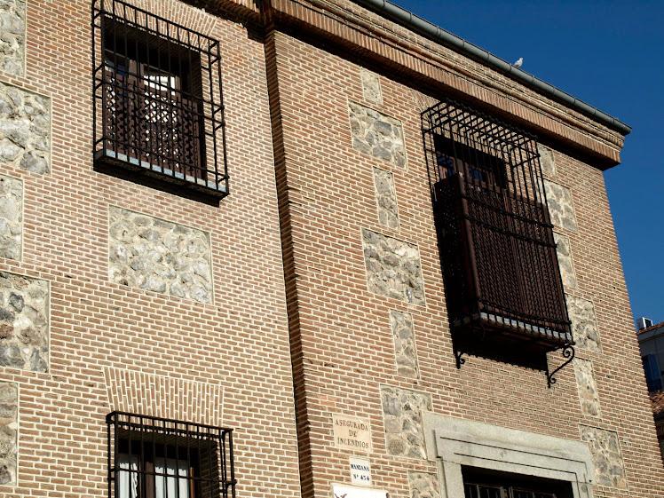 Balcones del convento de la Encarnación del siglo XVII.