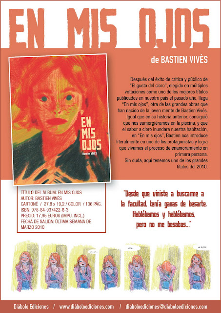 En mis ojos - Bastien Vivès