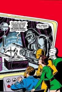 Showcase de la Doom Patrol original