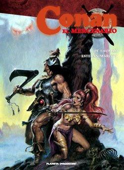 Conan el mercenario de Roy Thomas y Esteban Maroto