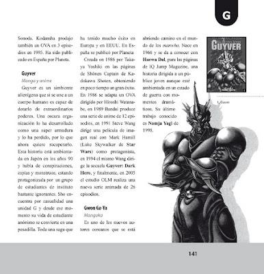 Diccionario de manga 1 de Igor Gobbi - Avance